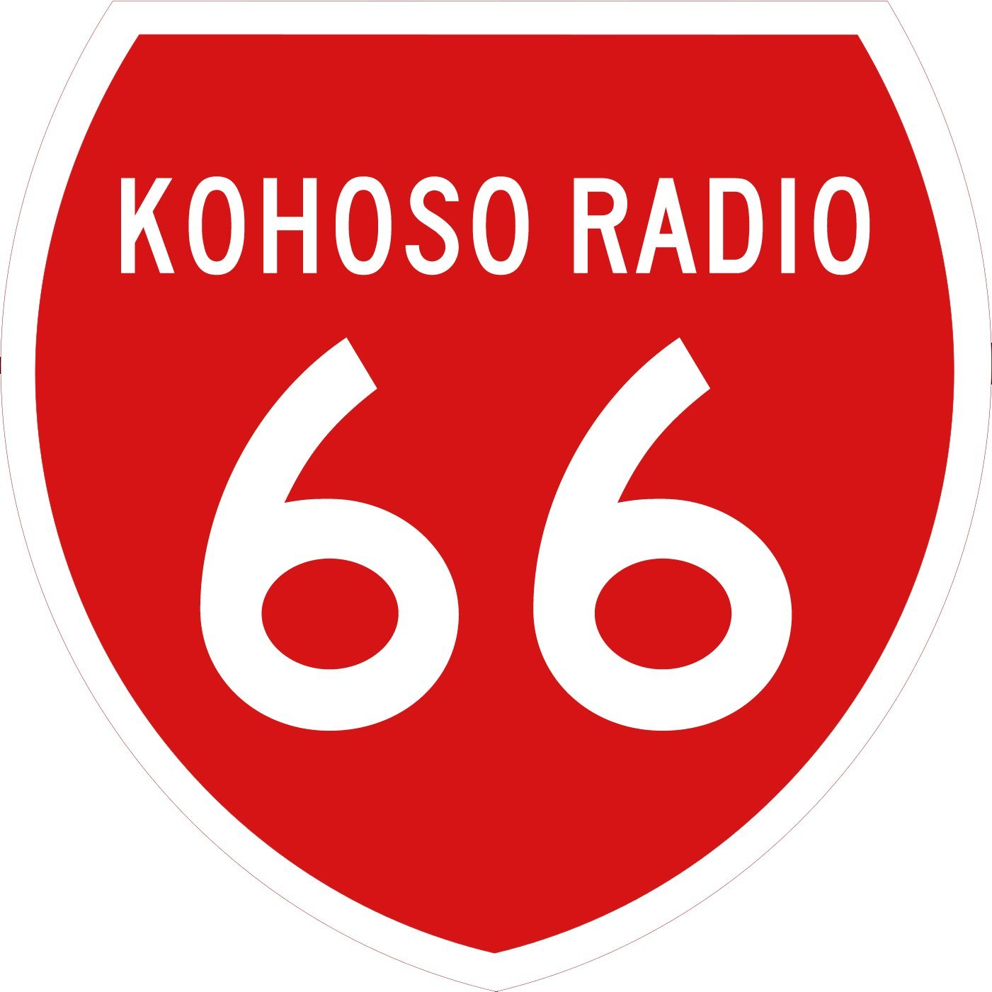 KoHoSo Radio 66 New Zealand Style Highway Shield - April 2016